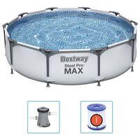 Bestway Piscina de acero Pro MAX 305x76 cm