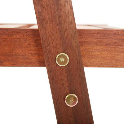 vidaXL Sillas de comedor para jardín 6 uds madera maciza de acacia
