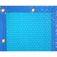 Manta Térmica 400micras Geobubble piscina de 3x6,5m con refuerzo