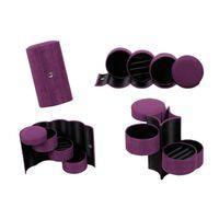 Joyero con 3 cajones - violeta