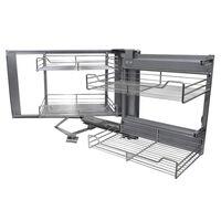 Cestos De Acero Inoxidable Para Mueble De Rincón Ciego 90-100cm, Mano