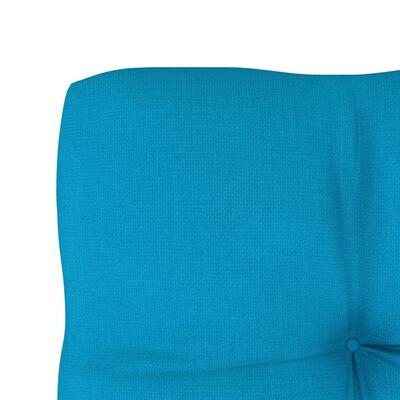 vidaXL Cojín para sofá de palets azul 70x70x12 cm