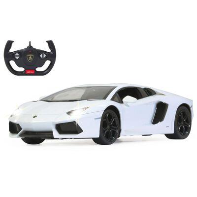 Jamara Superdeportivo teledirigido Lamborghini Aventador blanco 1:14