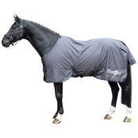 Covalliero Manta para caballos de exterior RugBe Zero gris 165 cm