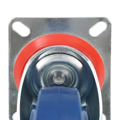 vidaXL Ruedas giratorias 32 unidades 125 mm