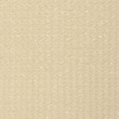 vidaXL Persiana enrollable de exterior 100x230 cm crema