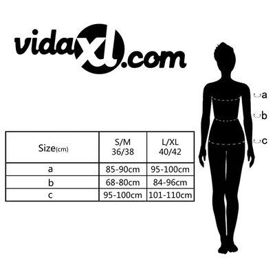 Conjunto lencería sexy mujer vestido transparente y tanga hilo L/XL