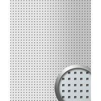 Wallface 10988-sa Panel De Pared Aspecto Metal Plata