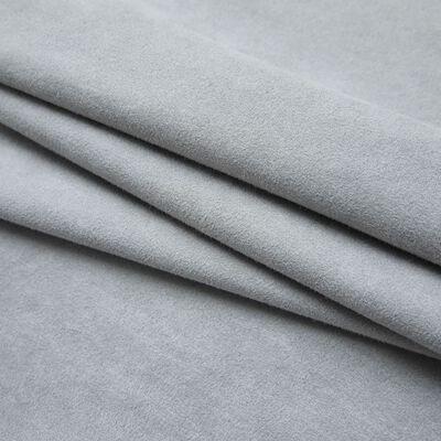 vidaXL Cortinas opacas con ganchos 2 unidades gris 140x245 cm