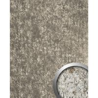Wallface 17231-sa Panel De Pared Used Look Plata