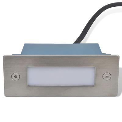 Foco LED empotrable para escaleras 44 x 111 x 56 mm