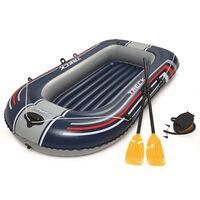 Bestway Barca inflable Hydro-Force con remos y bomba 61083 azul