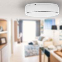 Smartwares Detector de humo blanco 12x9x4 cm