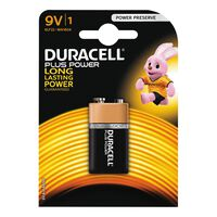 Pila Alcalina Powerp Bl1 6f22 - DURACELL - 9VK1PLUS/MN1604