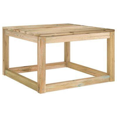 vidaXL Juego de muebles jardín de 3 piezas con cojines azul claro