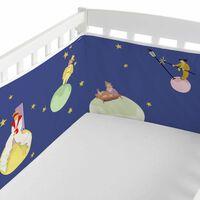 Le Petit Prince Protector Cuna 210x40 100% Algodón