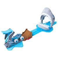 Monster Jam Set de coche de juguete Megalodon Mayhem 1:64