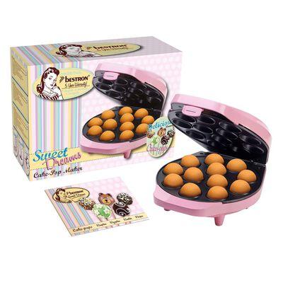 Bestron Máquina de Cake Pops rosa 700 W DCPM12