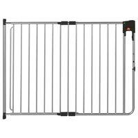 A3 Baby & Kids Puerta de seguridad SafeDoor gris 75,5-116 cm