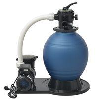 vidaXL Bomba filtro de arena 1000 W 16800 l/h XL