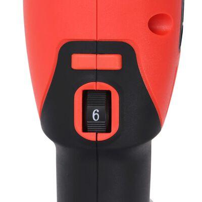 vidaXL Pulidora excéntrica con accesorios doble acción 21 mm 1000 W