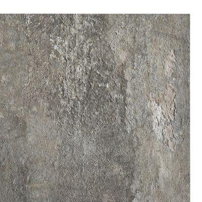 vidaXL Lamas para suelo autoadhesivas 55 piezas PVC 5,11 m² gris