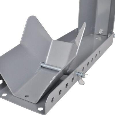 vidaXL Soporte para rueda de moto 10 agujeros