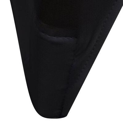 Funda elástica para sillas, 50 piezas, Negro