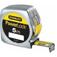 Flexometro Powerlock - Stanley - 0.33.442 - 10Mtx25Mm