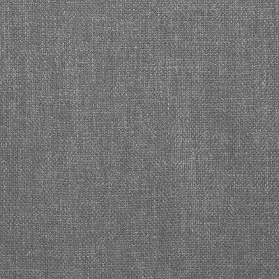 vidaXL Sillas de comedor giratorias 4 unidades de tela gris clara