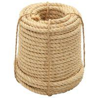 vidaXL Cuerda 100% sisal 16 mm 50 m