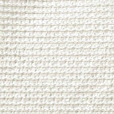 vidaXL Toldo de vela blanco HDPE 160 g/m² 3/4x3 m