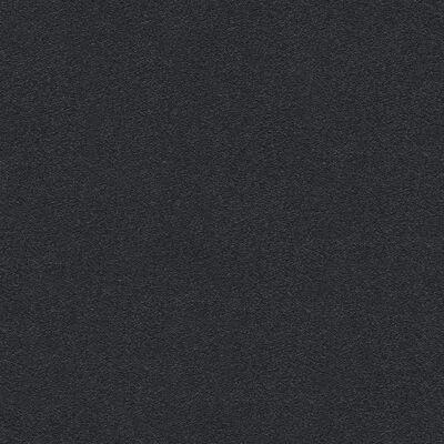 vidaXL Rollos de papel pintado no tejido 2 uds negro brillante liso