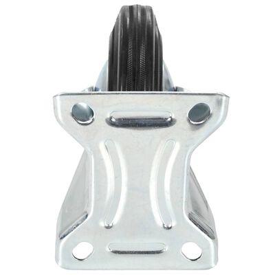 vidaXL Ruedas fijas 12 unidades 160 mm