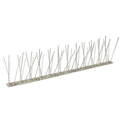 vidaXL Set de 2 hileras de pinchos contra pájaros y palomas 20 uds 10m