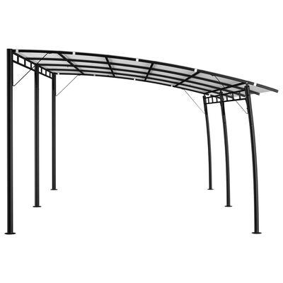 vidaXL Toldo parasol de jardín color crema 6x3x2,55 m