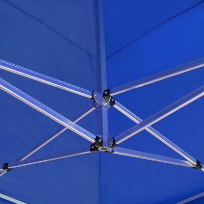 vidaXL Carpa plegable profesional de aluminio azul 6x3 m