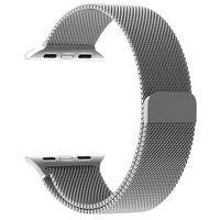 Apple Watch 1/2/3 pulsera lazo milanesa 38 mm - plateado