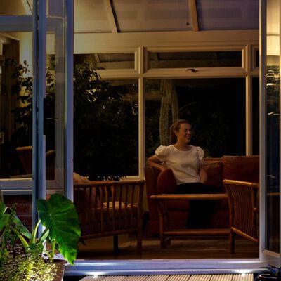 Luxform Lámparas LED de jardín Alpha 2 unidades 12 V