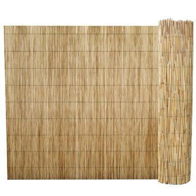 vidaXL Valla de cañizo de junco de jardín 100x1000 cm