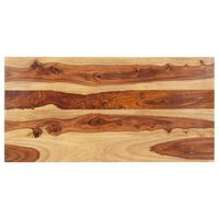 vidaXL Superficie de mesa madera maciza de sheesham 15-16 mm 60x120 cm