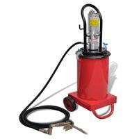 vidaXL Inyector de grasa neumático aire a presión 12 L