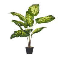 Planta artificial en maceta 122 cm DIEFFENBACHIA