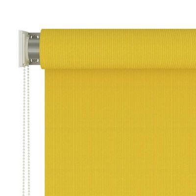 vidaXL Persiana enrollable de exterior 180x230 cm amarillo