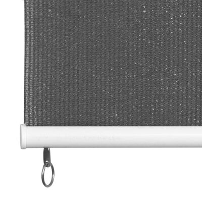 vidaXL Persiana enrollable de exterior 140x140 cm gris antracita