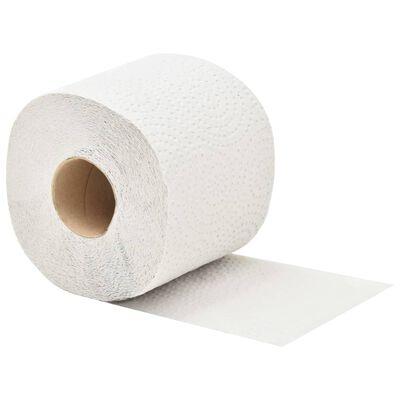 vidaXL Papel higiénico de 2 capas con textura 128 rollos 250 hojas