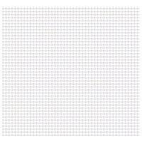 vidaXL Panel de malla alambre rizado acero inox. 50x50 cm 21x21x2,5 mm