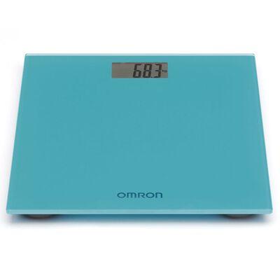 Omron Báscula digital azul 150 kg OMR-HN-289-EB