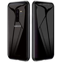 Carcasa magnética para teléfono Samsung Galaxy S9 Plus de doble cara n