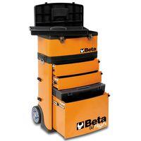 Beta Tools caja de herramientas con ruedas C41H/O naranja 041000002